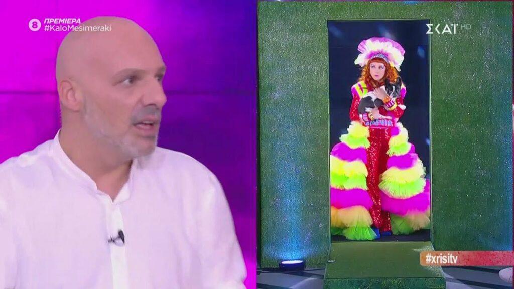 """Η τηλεοπτική Βάνια από το """"Καλό Μεσημεράκι με custom δημιουργία Nikos Aliazis."""